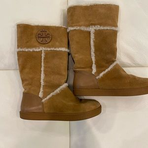 Size 6.5 Tory Burch Amelie Winter Boots